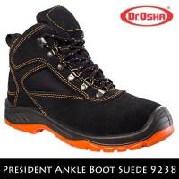 DISKON SEPATU SAFETY - Sepatu Safety Shoes Dr OSHA President Ankle