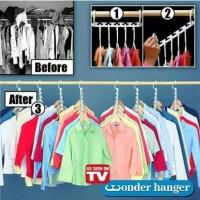 Jual Termurah!!! Magic Hanger / Wonder Hanger / Hanger Ajaib gantungan baju Murah