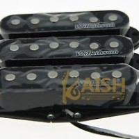 Wilkinson Lic Vintage Voice Single Coil Pickups for Strat Black