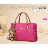 Tas Dompet Murah Fashion Jinjing Rosepink Elegan Tote Bag Wanita