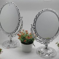 Silver Mirror Anna Sui/ Kaca Rias / Cermin Meja