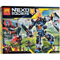 lele 79311 nexo the black knight mech