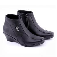 sepatu kerja pantofel formal wanita/perempuancewek/kantor kulit SE614
