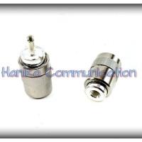 Konektor PL Male to Kabel RG-58 Koaksial Cable RG58 PL259 Connector ke