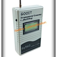 GOOIT GY560 50Mhz to 2.4Ghz Portable Frequency Counter Frekuensi