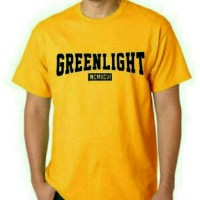 T-shirt/Baju/Kaos Green Light Distro Pria