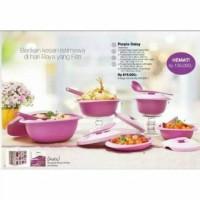 Tupperware Purple daisy Set Murahh