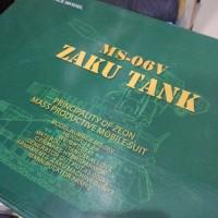 MS 06V Zaku Tank by motor king