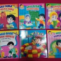 Buku Cerita Anak Seri Balita Pintar Arif & Pusi