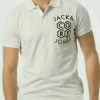 Polo Shirt terlaris T-shirt Baju Kaos Tshirt catton combed jack jones
