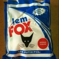 Harga lem fox bungkus lem putih bungkus lem kayu 600 | antitipu.com