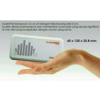 Jual Speaker Portable Dazumba Audiopad DAG08 - White Murah