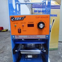 Eton Cup Sealer Manual + Digital Counter / Mesin Press Gelas