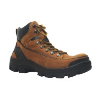 Shoes Cut Engineer Safety Boots Iron Apple Suede Leather Sepatu Pria