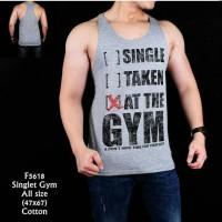 Baju Kaos Singlet Gym Pria