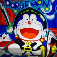 Selimut Super Lembut Merk Akiko - Karakter DORAEMON NEW Uk. 150x200 CM