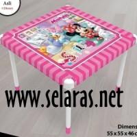 harga Meja Anak Plastik Naiba Minnie Pink Tokopedia.com