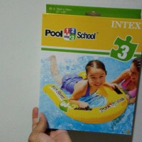 intex pool school 3 kick board papan pelampung belajar renang 58167