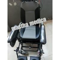 Kursi roda reclining GEA FS 204BJQ dudukan tebal+rebahan velg racing