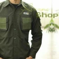 Jual Kemeja Tactical 511/Pria/Prajurit/Tentara/Polisi/Drone/Baju/Pakaian Murah