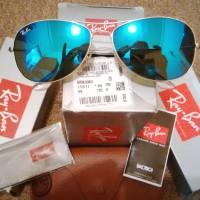 Ray-Ban COCKPIT Original 100% RB3362 112/17|New Series|Made In Itally