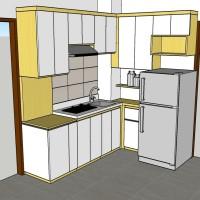 Furniture Kitchen Set Apartment