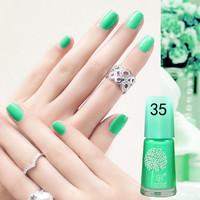Jual 100% ORI !!! Bright Green (35) BK Peel Off Nail Polish Kutek Halal Wat Murah