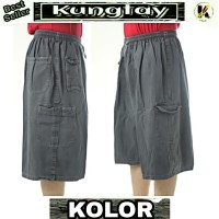 Size Big Ukuran Super Jumbo Celana Pendek KJK122 Model Kolor Hot Short