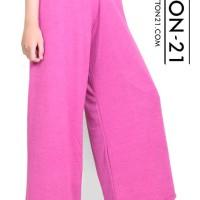 celana panjang kulot pink