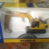 Diecast Miniatur Alat Berat Tambang Komatsu PC 200-8 Excavator Murah