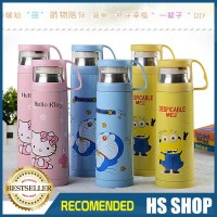 Jual Termos Kartun doraemon & minion thermos air Stainless Steel 500ML Murah