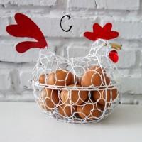 Keranjang Telur Ayam C PUTIH / XL PUTIH muat untuk 15-17 telur (1 kg)