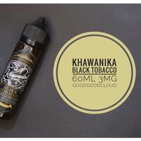 Khawanika Black Tobacco 60ml Premium Liquid Vape Vapor