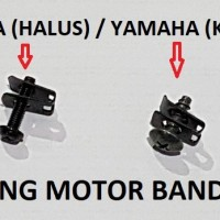 Baut Klip Bodi Motor Yamaha Baut M5 Drat Kasar Hitam Klem Honda Kleman