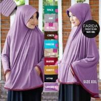 Jilbab Bergo Syari Pocket Jumbo - Hijab Model Bergo Syari Jersey Zoya