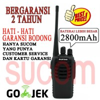 Radio Ht Baofeng Bf-888s Bf888s Walkie Talkie + Earphone