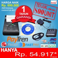 Jual Mini Printer Thermal Bluetooth Paytren FastPay BellaV ZCS 103(ANDROID) Murah