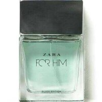 Parfum Ori Zara For Him Silver Edition EDT 100 Ml - No Box