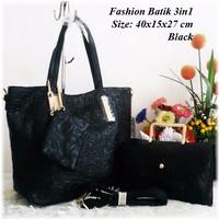 Jual Tas Wanita Impor/Tas Murah/Tas Branded Fashion Batik 3in1 Murah