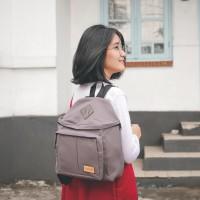 Jual Tas Ransel Backpack Mini Wanita - Rayleigh New Finch Grey Murah