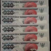 Jual Uang Kuno Lama Rp. 20.000 Cendrawasih Murah