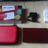 Jual Nintendo NEW 3DS XL - RED (IPS) + SKY3DS (USA) Murah