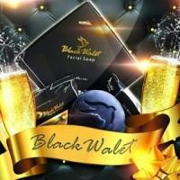 Black Walet Sabun Pembersih Muka Alami 1 paket isi 3 pcs