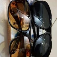 Jual kacamata hd vision hIGH qUALITY sunglass 1 box 2 pc Murah