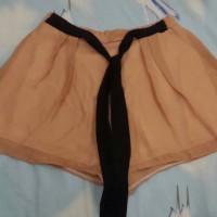 Jual TERMURAH Celana Pendek Wanita dengan Pita / Short Chiffon Ribbon Pants Murah