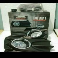 Foglamp Lampu Kabut Mobil Honda BRIO 2012-ON