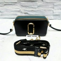 JUAL TAS MARC JACOBS SNAPSHOT CAMERA BAG BLACK ORIGINAL