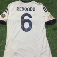 Jual Jersey Real Madrid Home Redondo #6,12/13,BNWT,Corazon Match,Original Murah