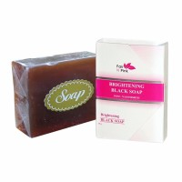 FAIR N PINK WHITENING BLACK SOAP / SABUN BATANG HITAM PEMTIH TUBUH