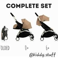 Harga babyzen yoyo 0 stroller cabin stroller travelling | Pembandingharga.com